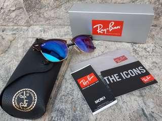 Ray-Ban RB3016 Clubmaster Flash Lenses Gradient-990/7O RayBan太陽眼鏡