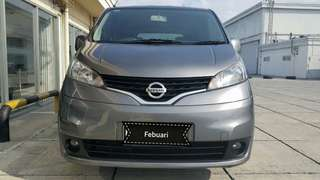 Nissan Evalia XV 1.5 AT 2013 abu tua metalik dp 15