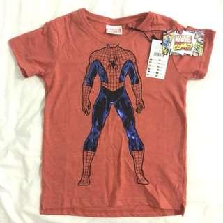 Spider-Man Marvel Comics Tshirt. Age 3. RRP 19.99