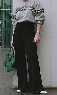 Nabo Black Culotte Pants