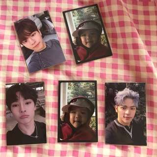 wts stray kids i am not photocard