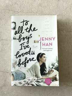 Romantic Novel - To All The Boys I've Loved Before by Jenny Han