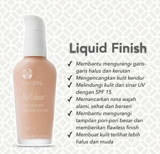 Nu Skin advanced liquid finish spf 15
