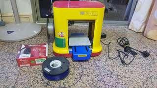 Da Vinci Minimaker 3D Printer with free fillament (worth $150) extra