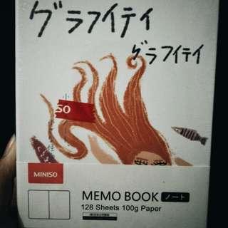 Miniso Memo Book (NEW)