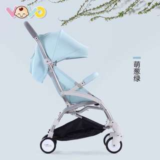 (Ready stock, BNIB) VoVo foldable compact lightweight travel stroller (Upgraded version)