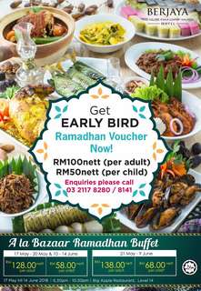 Ramadhan Early Bird Vouchers
