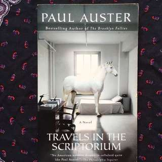 Travel in the Scriptorium by Paul Auster
