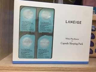Laneige Set Capsule sleeping pack 16 pieces x3 ml