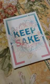 Filed Keepsake Planner