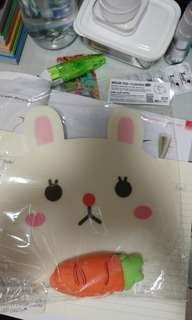 Rabbit mousepad with cushion