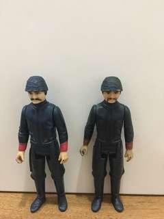 Vintage Star Wars Bespin Guard variations