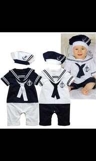 Baby shirt sailor