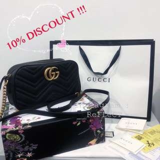 10% DISCOUNT ‼️ Gucci GG Marmont Camera Bag (Finest Quality Guaranteed)