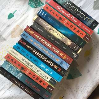 DISCOUNTED FICTION BOOKS
