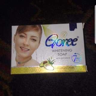 Goree cream. horse soap...set free shiping