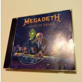Megadeth – Rust In Peace; CD