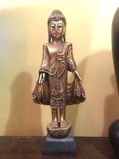 vintage standing buddha