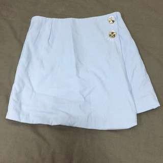 No brand Light Blue Wrap skirt