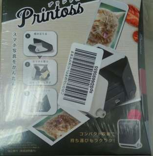 Takara Tomy Printoss(藍) - Takara Tomy Printoss 手提光學打印機