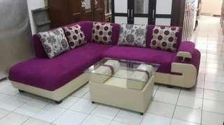 Sofa L Minimalis Cantik
