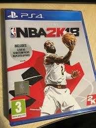 Nba 2k18 ps4 game