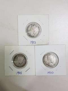 King Edward vll 20 cents