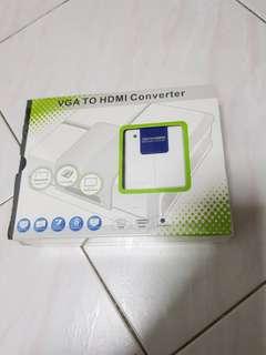 VGA to hdmi converter (New in box)
