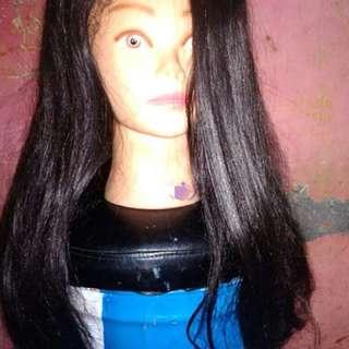 Wig Rambut Panjang model Shaggy