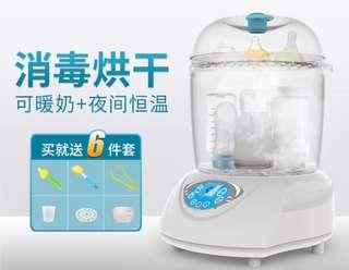 可暖奶 奶瓶消毒烘乾鍋