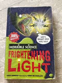 Horrible Science - Frightening Light