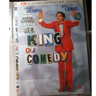 DVD - THE KING OF COMEDY (1982) robert deniro jerry lewis comedy crime drama