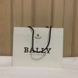 PAPERBAG AUTHENTIC PAPERBAG BRANDED PAPERBAG BALLY