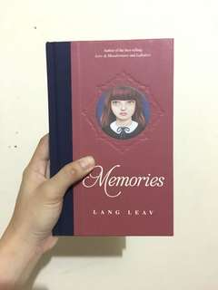 Memories by Lang Leav - Brand New