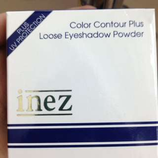 INEZ EYESHADOW+HIGHLIGHTER SILVER