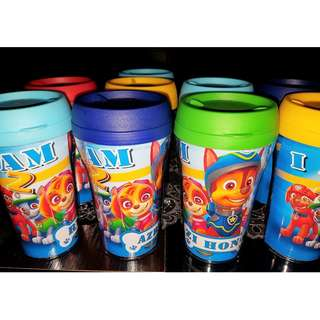 Paw Patrol Customized Hot & Cold Tumbler
