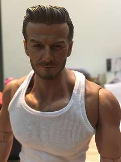 1/6 David Beckham head sculpt (body not included)