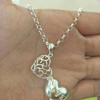 ITALY SILVER LADY NECKLACE
