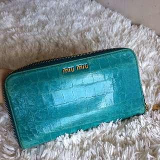 Authentic miu miu wallet