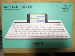 Logitech K480 Multi-device Bluetooth keyboard / 羅技 藍芽鍵盤