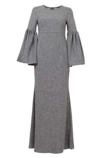 Searching for Poplook Katelyn Flared Bell Sleeve Dress
