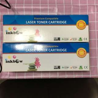 Brand new laser toner cartridges for HP and Cannon