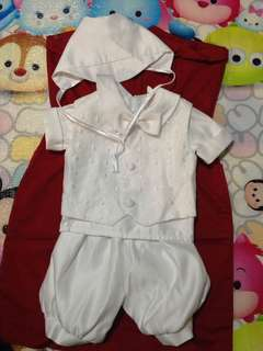 Prince design baptismal outfit