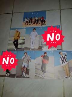 BTS Puma Turin Postcard