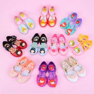 Princesses jelly shoes