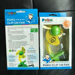 Puku Clip On Fan Stroller