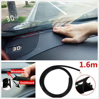 Car Dashboard Sound Insulation Rubber Strip (free scraper)