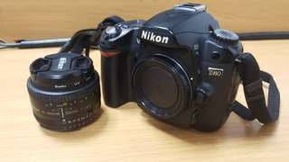 Rarely used D80 DSLR
