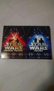 Star Wars 星球大戰 1-6 DVD