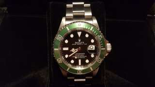ROLEX 16610LV (V頭 內影字 剩錶) Submariner Watch